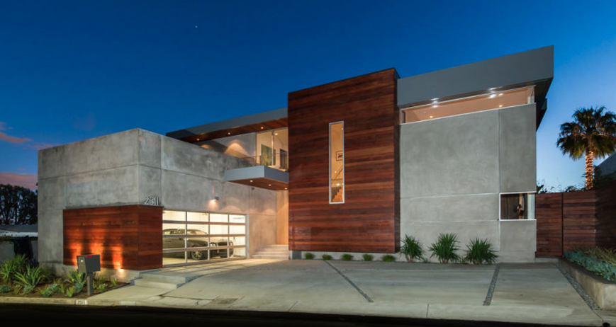 Million contemporary home in los angeles ca for Home designers los angeles