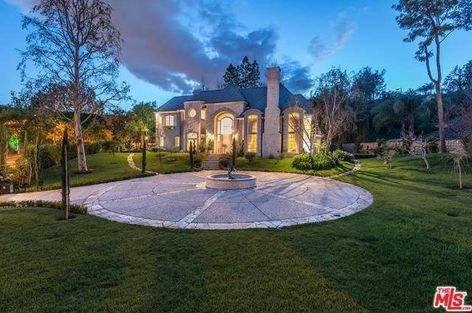 $12.25 Million French Inspired Stone Home In Beverly Hills, CA