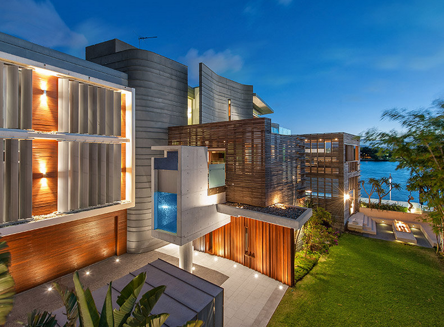 Balaam A Contemporary Waterfront Mansion In Queensland