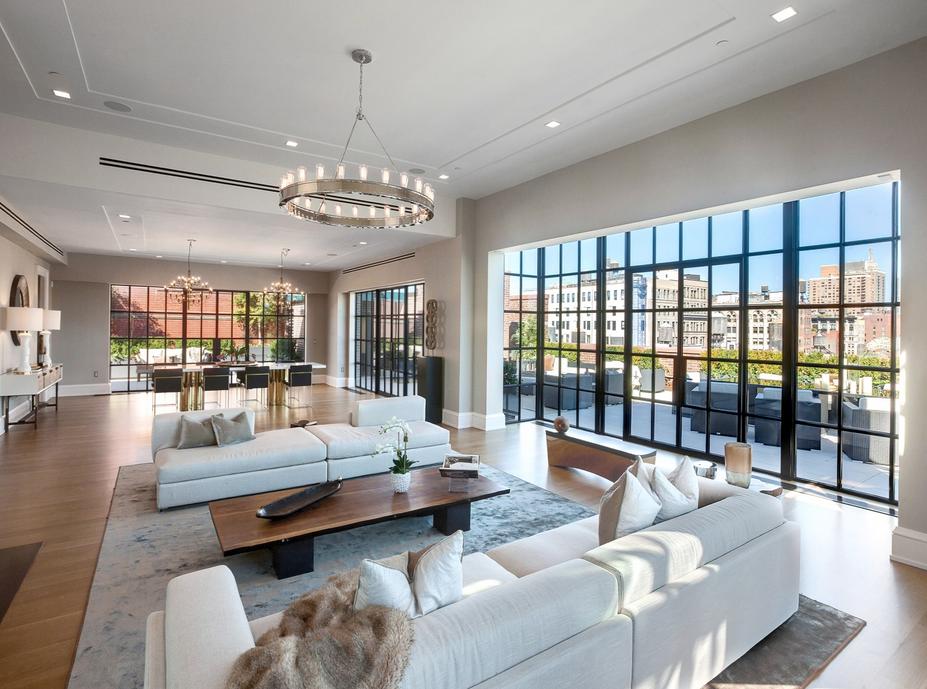 66 Million Newly Built Duplex Penthouse In New York Ny