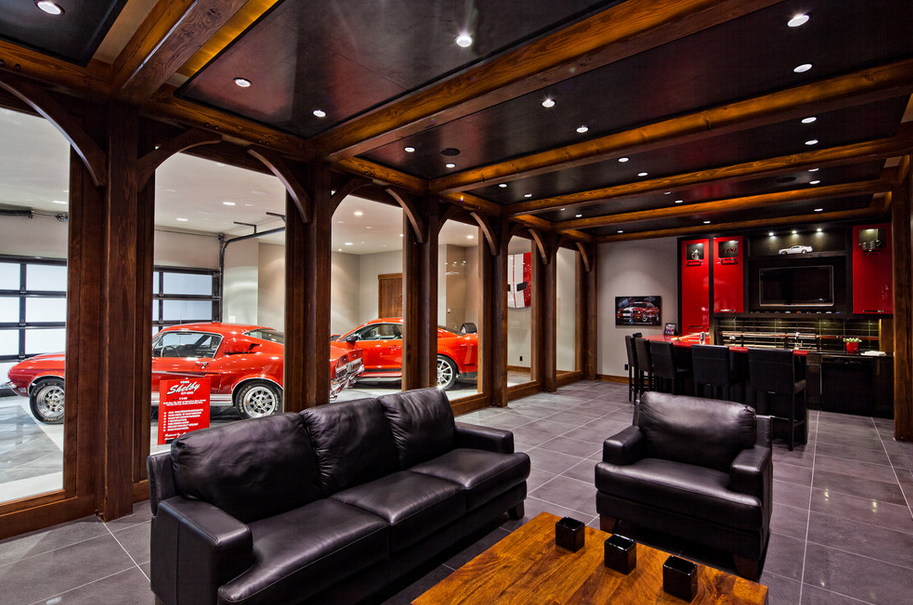 Man Cave Victoria Tx : Hotr poll which garage man cave do you prefer homes of