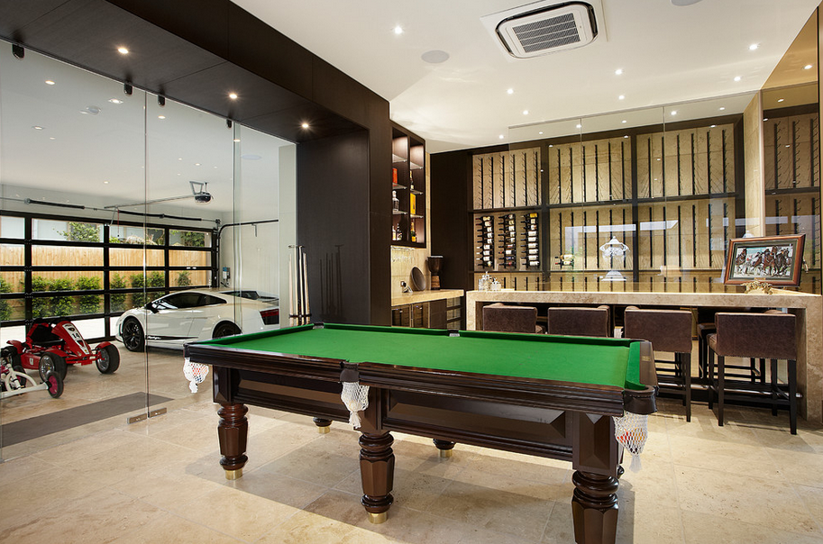 HOTR POLL Which Garage Man Cave Do You Prefer Homes Of The Rich