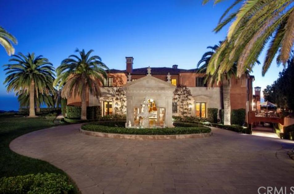$37 Million Newly Listed Mediterranean Mansion In Newport Coast, CA