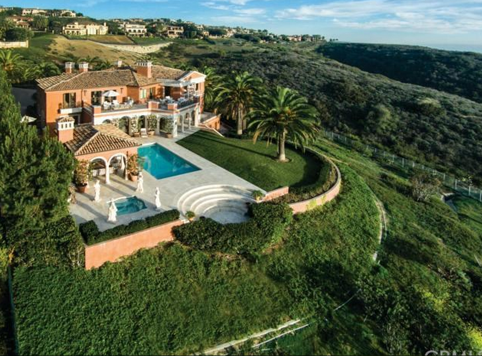37 Million Newly Listed Mediterranean Mansion In Newport