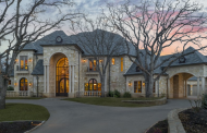 $4.5 Million Stone Mansion In Colleyville, TX