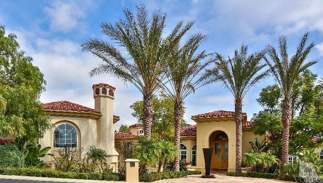 $14.9 Million 15,000 Square Foot Mediterranean Mansion In Westlake Village, CA