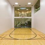 Indoor Racquetball/Basketball Court
