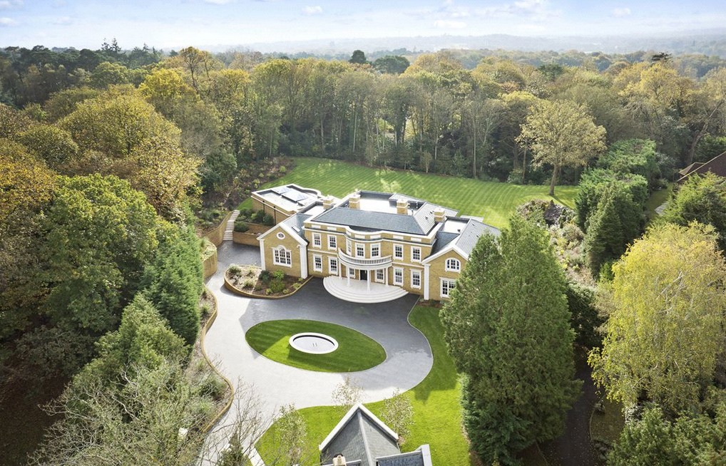 Knightswood House U2013 A £12.95 Million Newly Built Brick Mansion In Surrey,  England | Homes Of The Rich