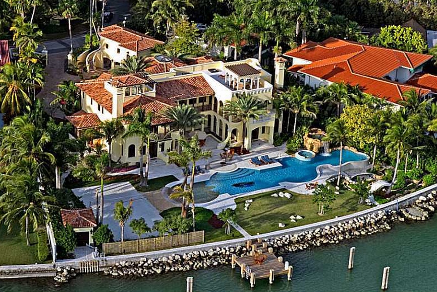 A 39 Million Waterfront Mansion In