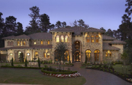 $3.35 Million Stone & Stucco Mansion In The Woodlands, TX