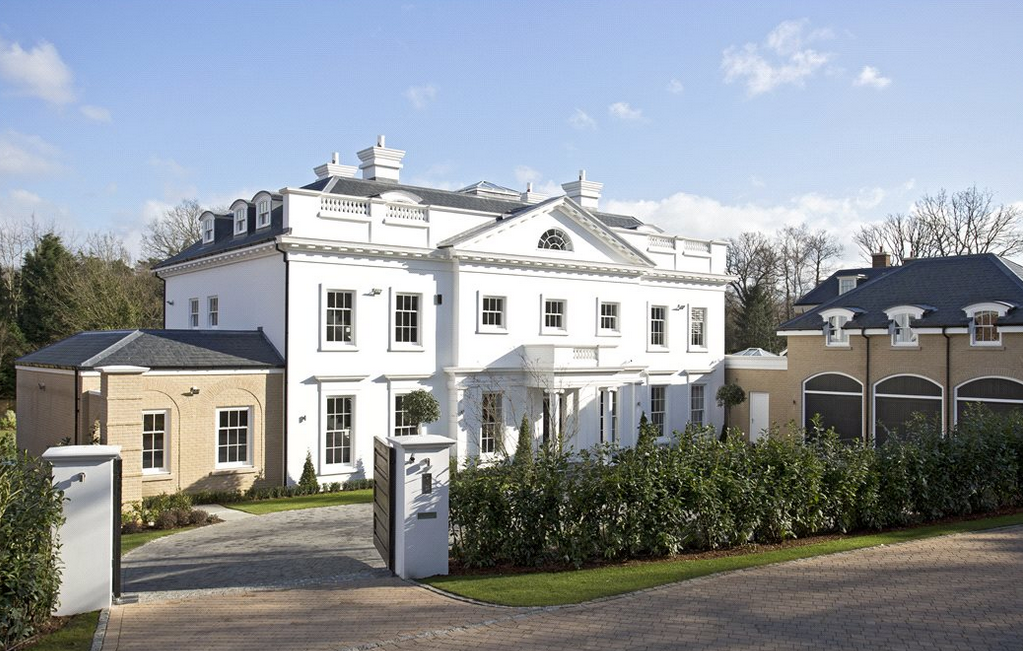 regency house a newly built mansion in surrey england homes of the rich