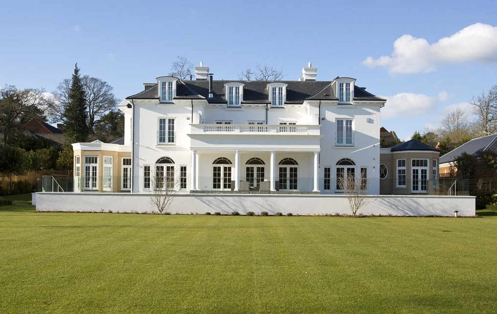 Regency House A Newly Built Mansion In Surrey England