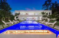 $55 Million Newly Built 20,000 Square Foot Modern Mansion In Beverly Hills, CA