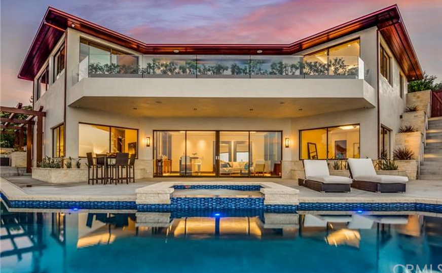 $8.2 Million Newly Built Contemporary Home In Palos Verdes Estates, CA
