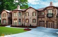 9,000 Square Foot Newly Built Brick & Stone Lakefront Mansion In Atlanta, GA