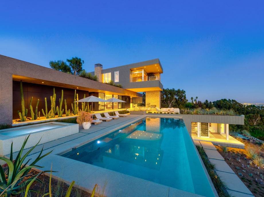 $29 Million Newly Built Contemporary Home In Beverly Hills, CA