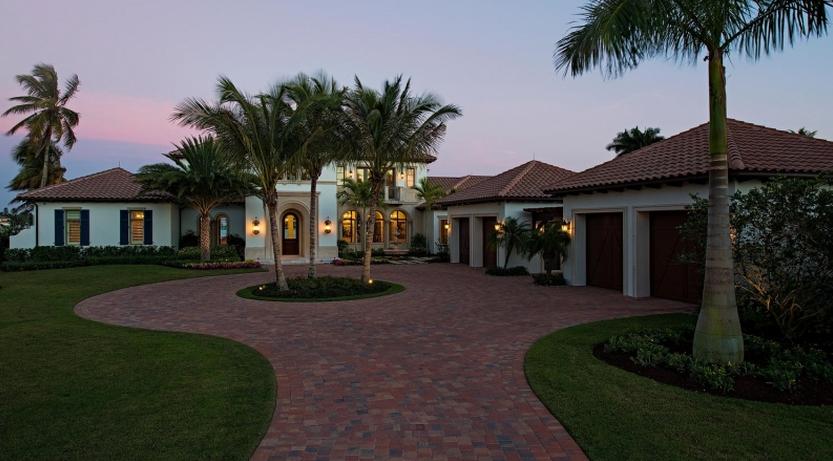 $10.95 Million Mediterranean Waterfront Home In Naples, FL