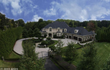 $3.995 Million Brick & Stone Mansion In Great Falls, VA