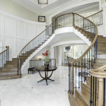 2-story Foyer w/ Double Staicase