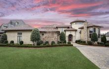 $3.499 Million 11,000 Square Foot Golf Course Mansion In Waxhaw, NC