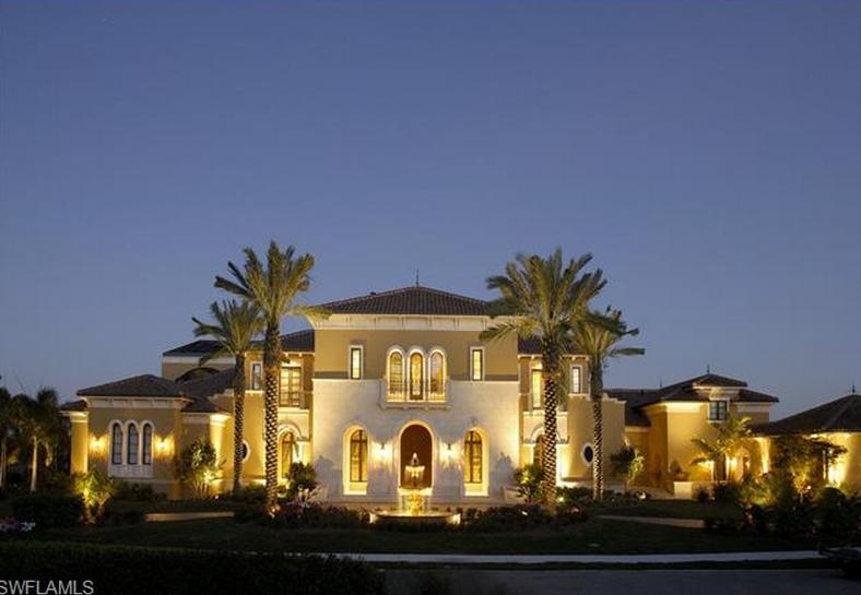 $8.9 Million Mediterranean Mansion In Naples, FL