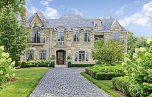 $4.675 Million French Provincial Stone Home In Hinsdale, IL