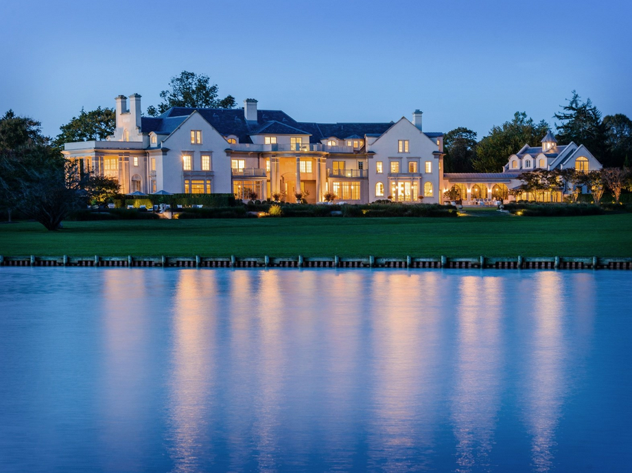 The Villa Maria Estate In Water Mill Ny Re Listed For 85