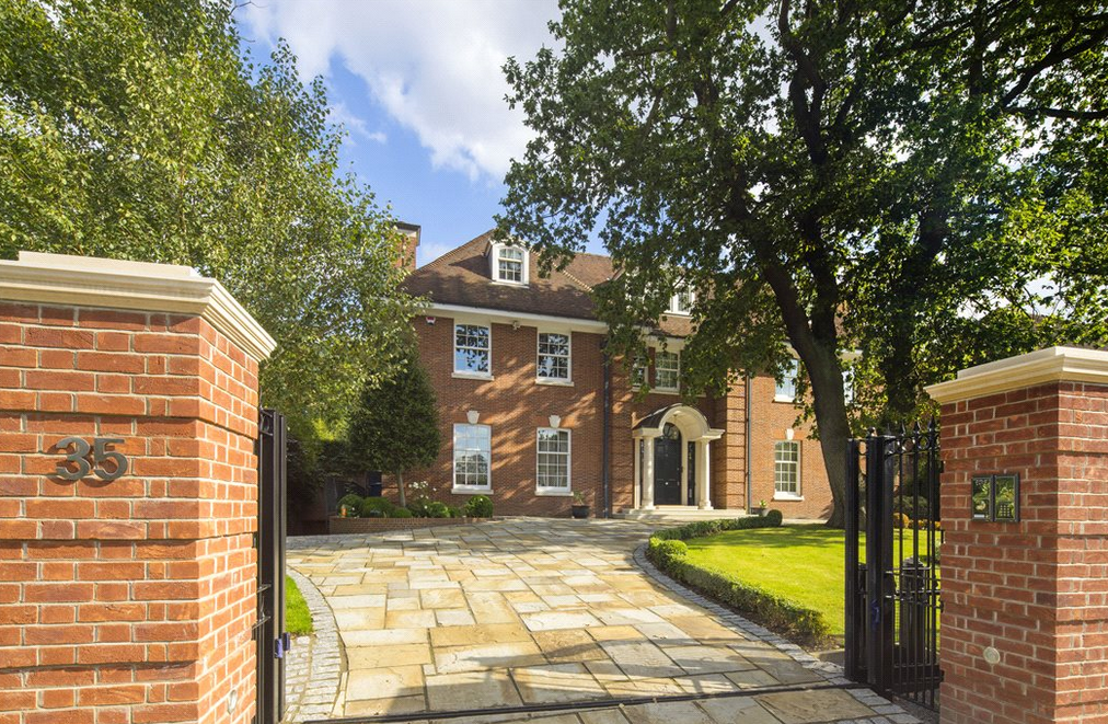 £21 Million 13,000 Square Foot Brick Mansion In London, England