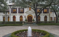 $10 Million European Inspired Estate In Dallas, TX