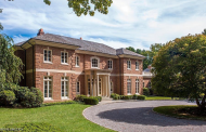 $7.195 Million Georgian Colonial Brick Mansion In Greenwich, CT