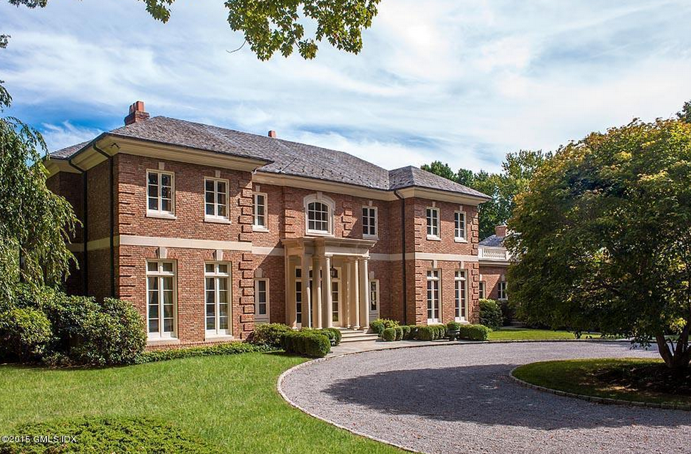 $7195 Million Georgian Colonial Brick Mansion In Greenwich CT Homes of the Rich - Colonial Mansion Floor Plans