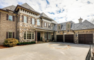 $3.4 Million Brick & Stone Home In Sandy Springs, GA