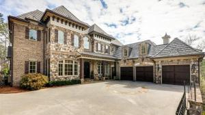 3 4 Million Brick Amp Stone Home In Sandy Springs Ga