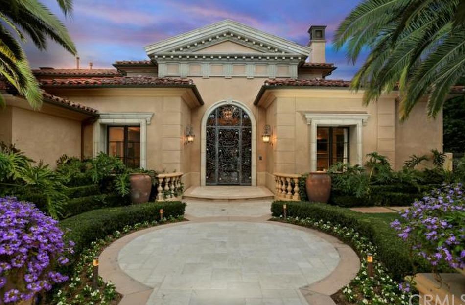 $6.798 Million Newly Listed Mediterranean Home In Newport Coast, CA
