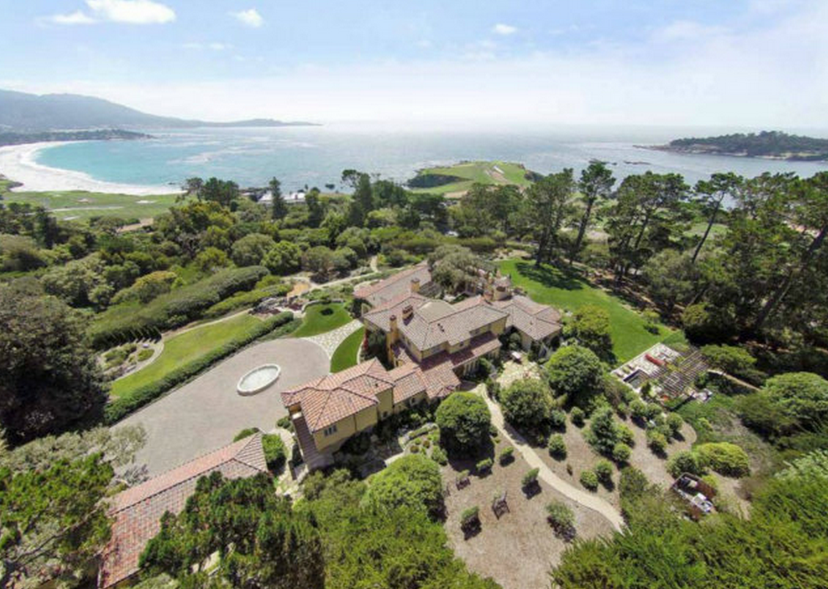 Casa Ladera – A $23 Million Mediterranean Estate In Pebble Beach, CA