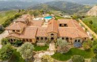 $8.5 Million Tuscan Mansion In Calabasas, CA