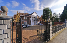 £15 Million Palladian Style Brick Mansion In London, England