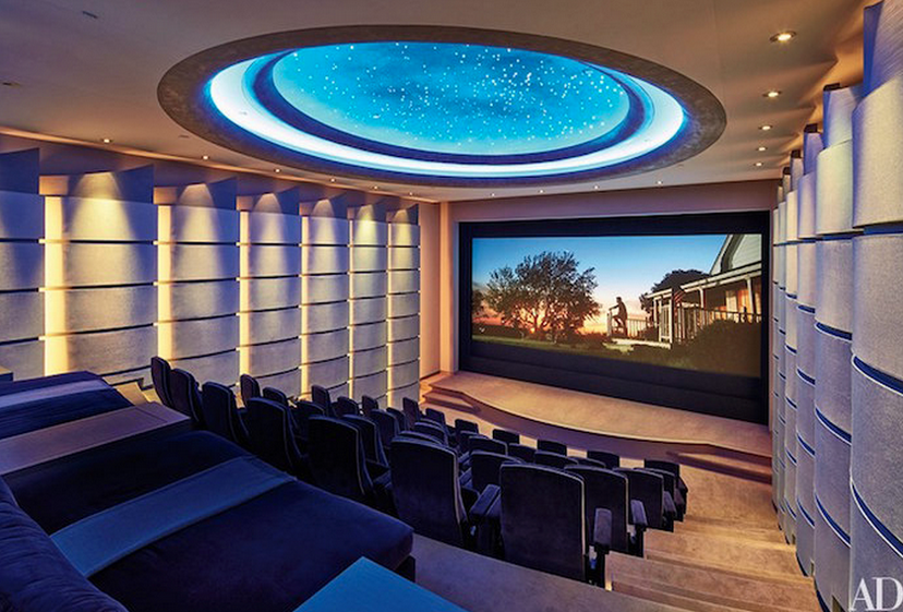 12 Contemporary Modern Home Theaters Homes Of The Rich