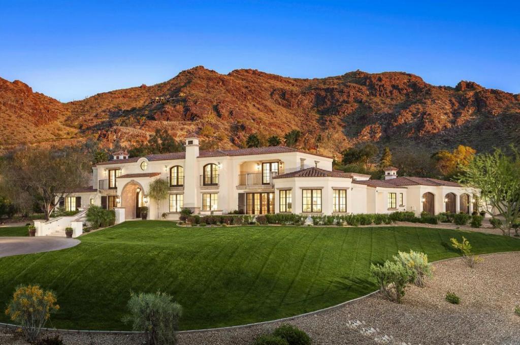 4 195 Million Santa Barbara Tuscan Inspired Mansion In