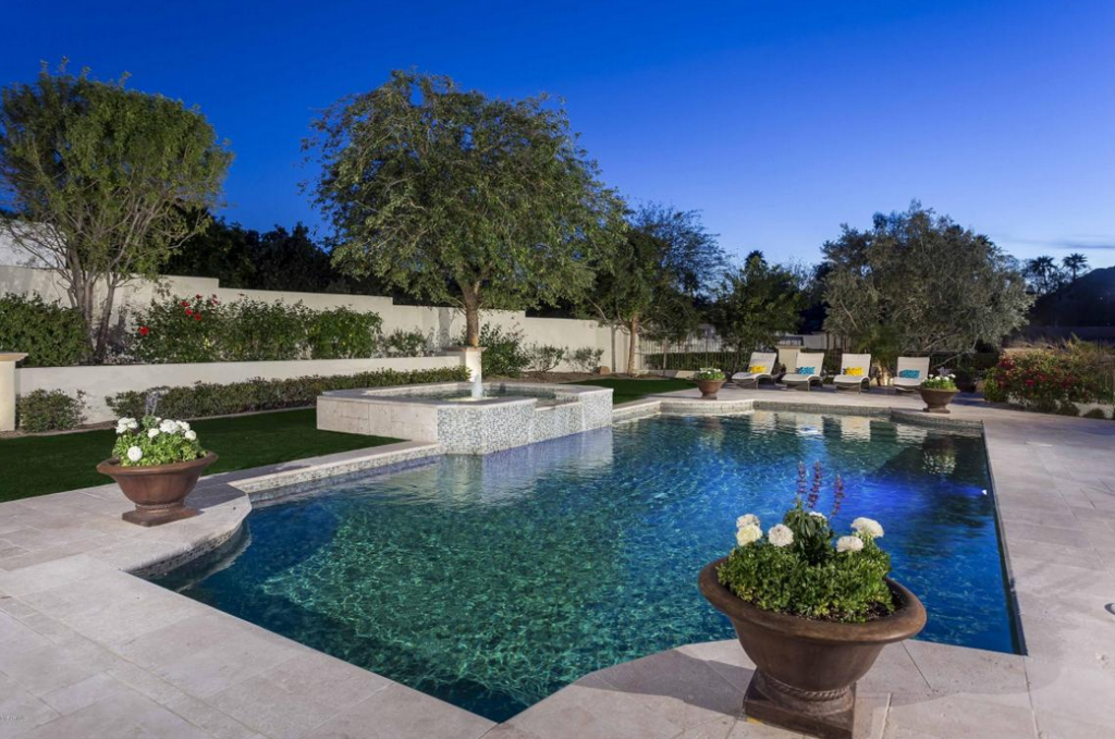 Million Santa Barbara Tuscan Inspired Mansion In Paradise Valley Az Homes Of The Rich