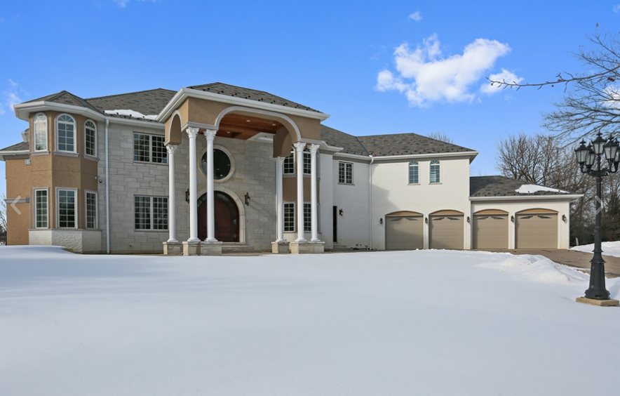 $4.6 Million Newly Built 12,000 Square Foot Mansion In Oak Brook, IL