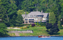 Wikiosco – A 20,000 Square Foot Tudor Revival Waterfront Mansion In Lake George, NY