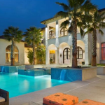 Side Exterior w/ Pool