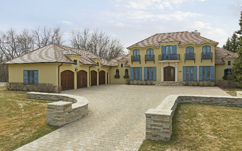 $2.695 Million French Inspired Home In Excelsior, MN