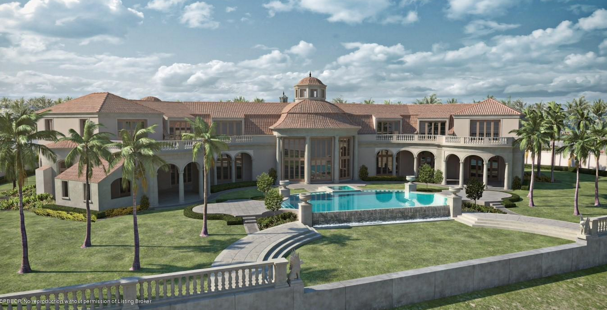 84 5 million newly built 35 000 square foot oceanfront for Mega mansions in florida