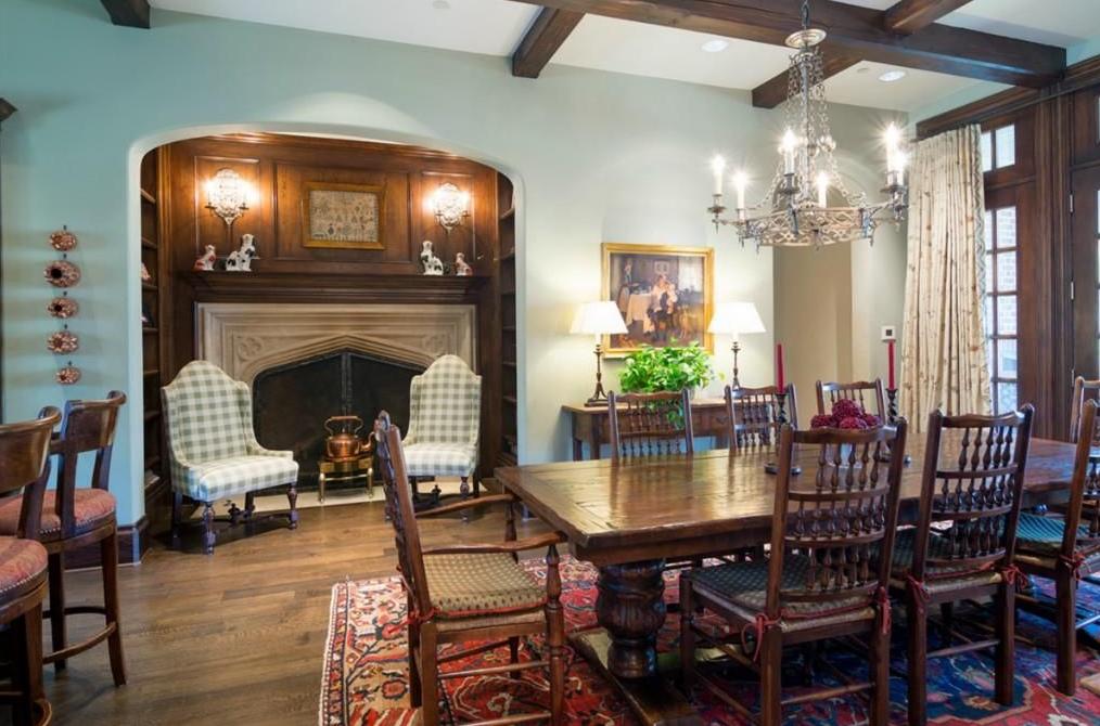 8 9 Million English Tudor Mansion In Dallas Tx Homes