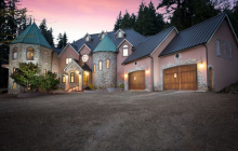 Blackberry Castle – A 10,000 Square Foot Newly Built Mansion In Portland, OR
