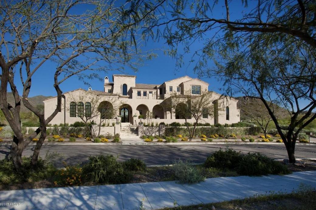 6 295 Million Spanish Style Mansion In Scottsdale Az