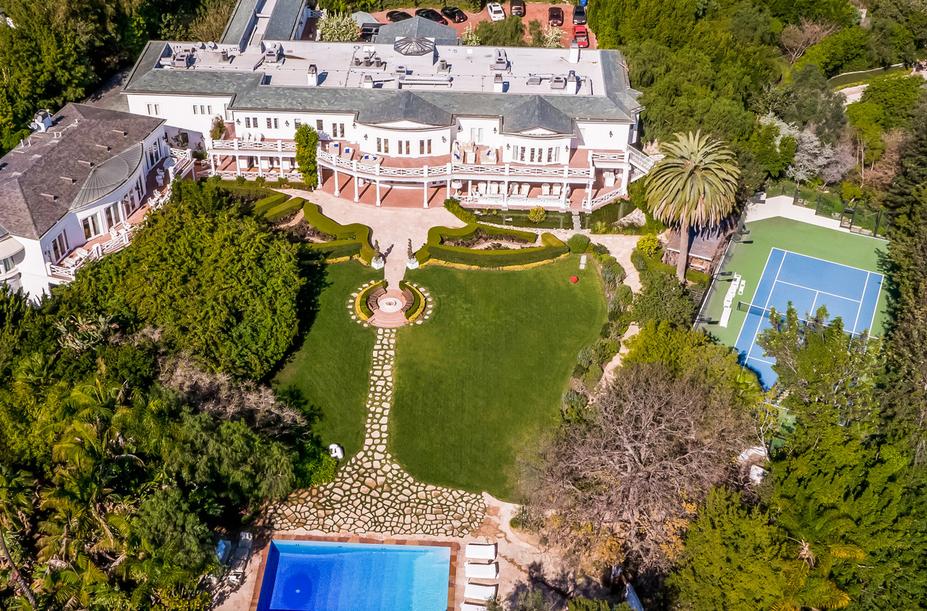 Fashion Designer Max Azria Lists Los Angeles Mega Mansion For $85 Million