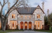$3.3 Million Newly Built Stone & Brick Home In University Park, TX